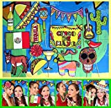 Mexico Photo Booth Props