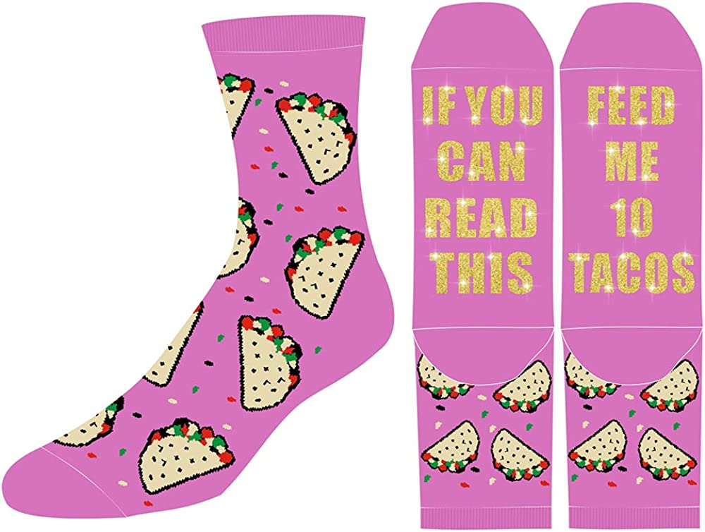 If You Can Read This Funny Unisex Novelty Nonslip Socks Dress Socks For Men Women