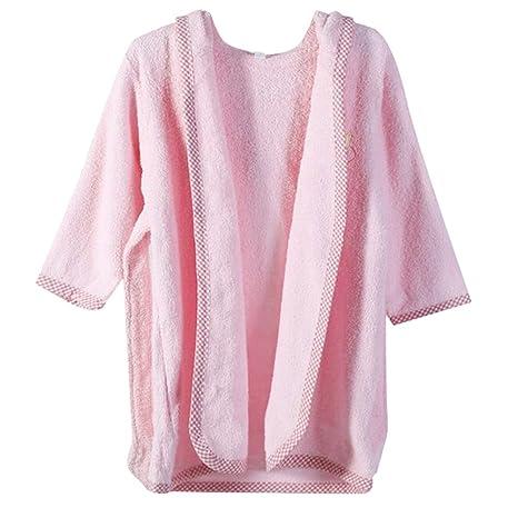 De octubre de Elf Unisex Bebé Albornoz con capucha albornoz de algodón albornoz y toalla (