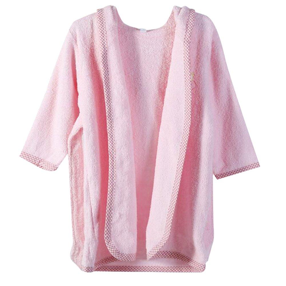 October Elf Unisex Baby Robe Hooded Cotton Bathrobe and Towel Non-Name