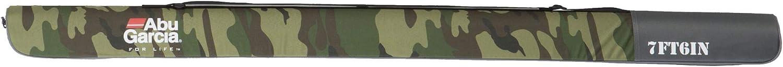 halbstarrer Rutenkoffer f/ür Lagerung oder Transport ABU GARCIA Semi Hard Rod Case 2 Camo