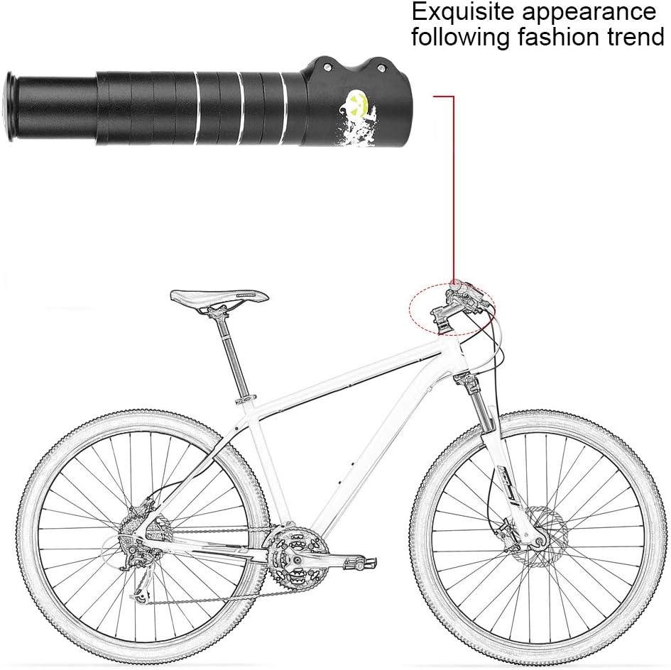 Tbest Potencia para Bicicleta Carretera MTB,Extensor de Vástago de ...