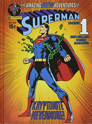 Silver Buffalo SP1350 DC Comics Superman Breaking Chain Hardcover Journal Stationery Notebook, 6 x 8 inches -