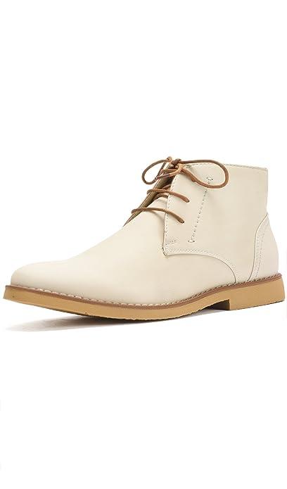 Reservoir Shoes Bottines à Bouts Ronds Homme: