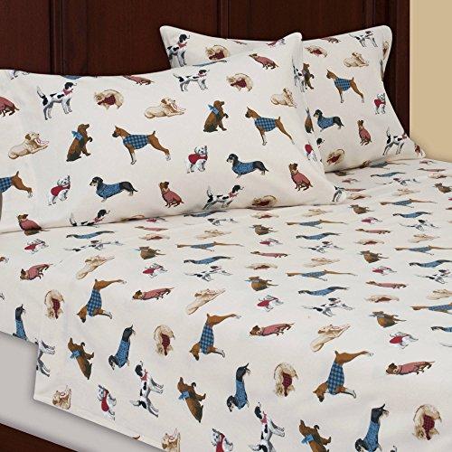 flannel sheet set queen - 9
