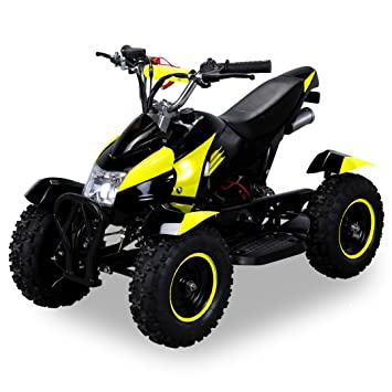 LIZARD Mini Quad 49cc 2 Tiempos: Seguridad para niños, ajuste. Velocidad, Arranque