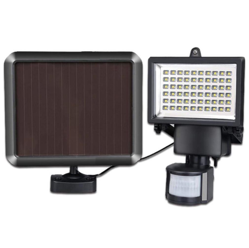 CARYY Solar Light, High Brightness LED Wall Lamp, Outdoor Waterproof Body Induction Garden Lights, Road Lighting