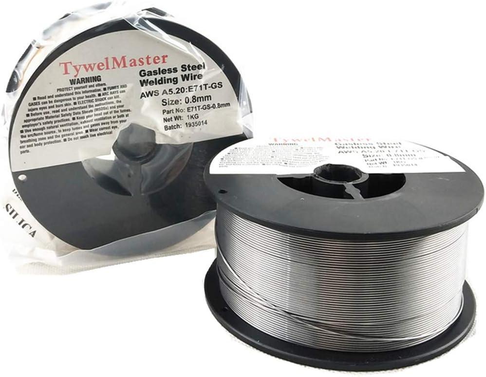"""MIG Flux-Cored Welding Wire 1kg Roll  Flux Cored Gas Shielded 0.8mm//0.030/"""""""