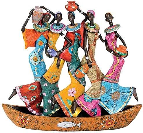 Design Toscano The Maiden Water Carriers of Ghana Sculpture