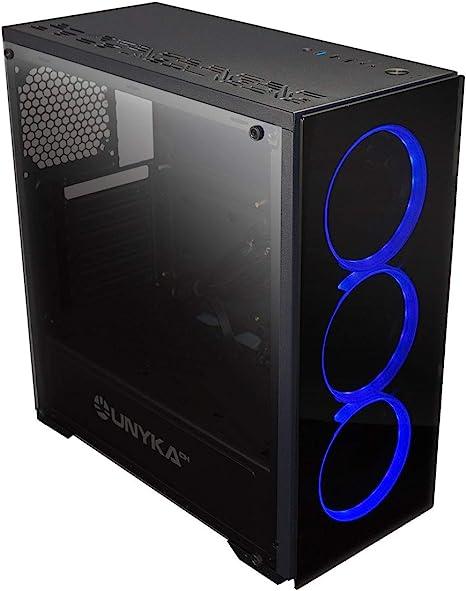 UNYKAch Armor EVO RGB - Caja Ordenador de Gaming ATX, Color Negro: Amazon.es: Informática