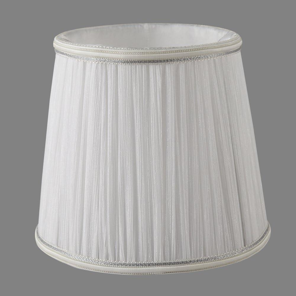 Gauze, Black YISUN Set of 6 Clip On Upright Chandelier Lamp