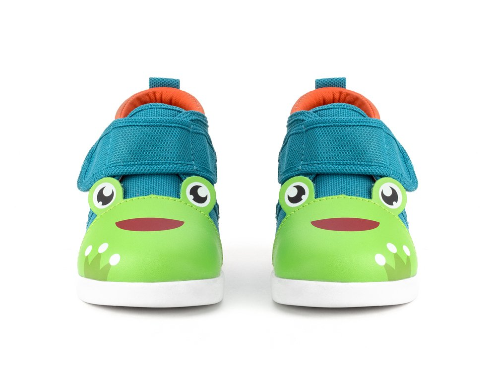 ikiki Squeaky Shoes for Toddlers w/Adjustable Squeaker (4, Prince Kairu) by ikiki (Image #2)