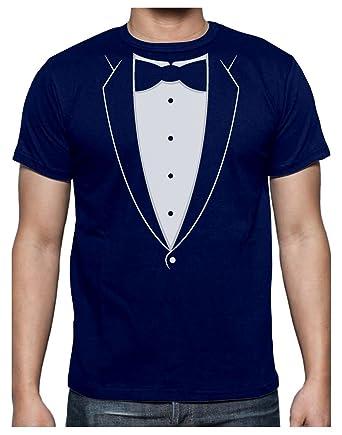 T-Shirt Costume Noeud Papillon Événement Humour T-Shirt Homme  Amazon.fr   Vêtements et accessoires ec6e1fcb745