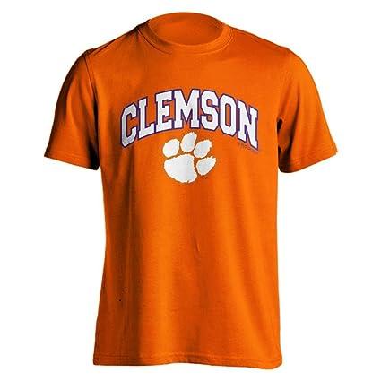 9f60c42de36 Amazon.com   Clemson University Tigers Orange Arch Paw Print Short ...