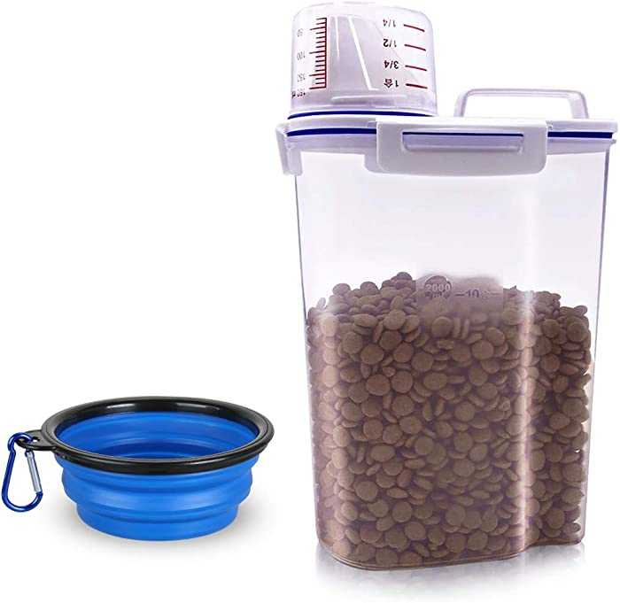 The Best Airtight Odor Free Dog Food Container