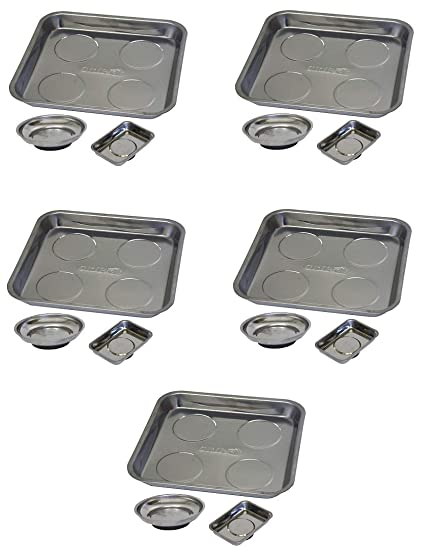 GRIP 67456 3 Pc Magnetic Tool Tray Set,