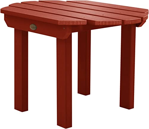 highwood AD-TBL-CW1-RED Classic Westport Side Table