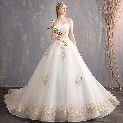 44b9567693 Amazon.com  ELEGENCE-Z Wedding Dress
