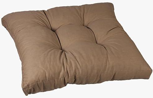 Amazon.de: Kissen für Loungemöbel 60 x 60 cm in sand Sitzkissen Rattan