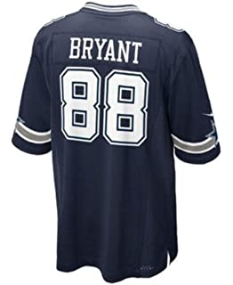 73727ced Amazon.com : Nike Mens NFL Dallas Cowboys Dez Bryant 88 Jersey Navy ...