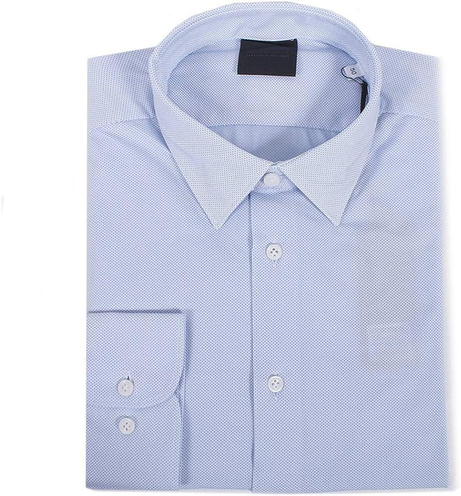 Dr. Brandt Rrd Camisa 19081 64 Azul Celeste 50: Amazon.es ...