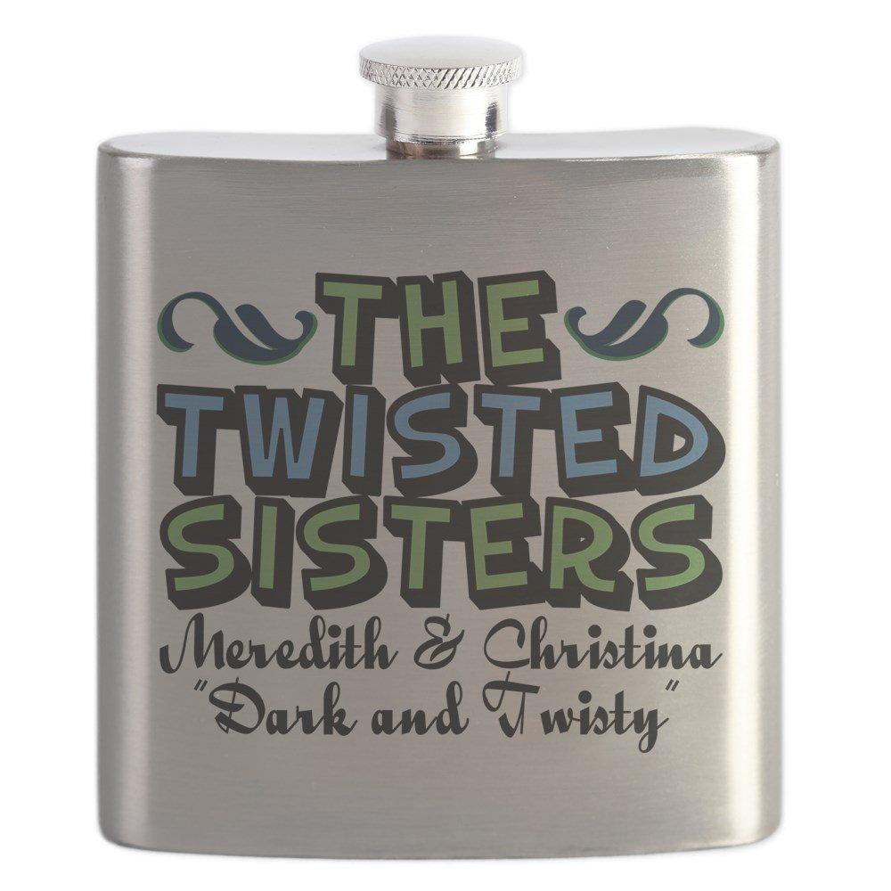 激安直営店 CafePress – CafePress Twisted Sisters – – – ステンレススチールフラスコ、6オンスDrinkingフラスコ B01LOLZGZC, 沖縄ロハス:448bd00d --- vrpawar.in