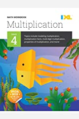 IXL | Grade 4 Multiplication Math Workbook | Fun Math Practice for Ages 9-10, 112 pgs Paperback