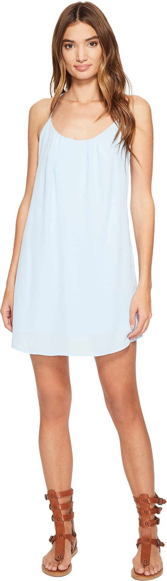 Lucy Love Women's Take Me to Dinner, Blue Cloud, Large