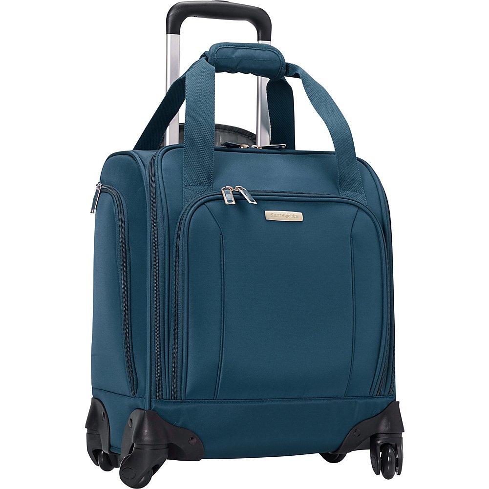 Samsonite Spinner Underseater with USB Port - eBags Exclusive (Majolica Blue)