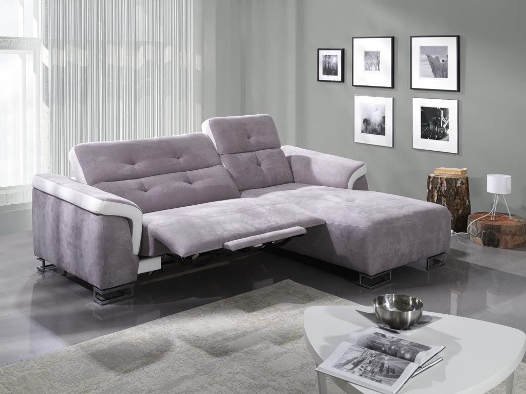 Sofa Amber - Couch mit Relaxfunktion, elektrisch verstellbar ...