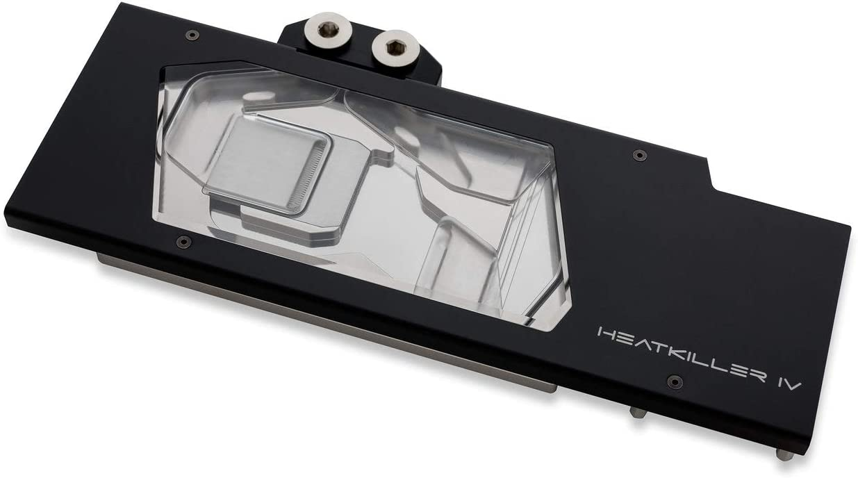 Watercool HEATKILLER IV GPU Water Block for Radeon RX 5700 / XT, RGB, Acryl Ni/Black