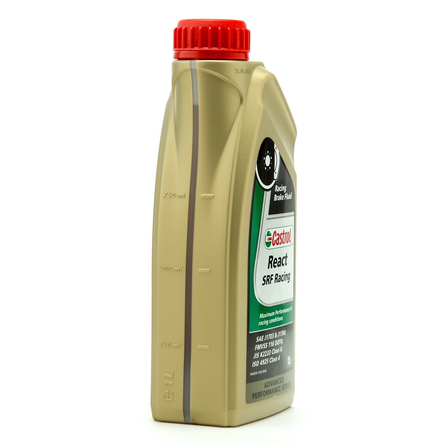 Castrol SRF Racing Brake Fluid - 1 Liter 12512 by Castrol (Image #1)