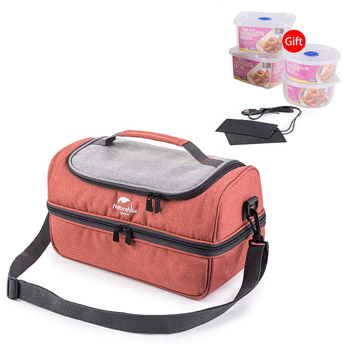 Naturehike exterior alimentos leche térmica preservación caja con aislamiento Cool Picnic bolsas para acampada playa barbacoa, red, M: Amazon.es: Deportes y ...