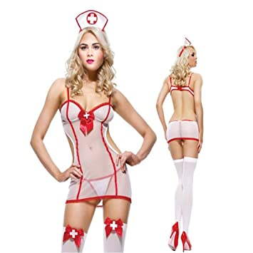f4a043639e60 LouiseEvel215 Porno lencería Sexy Enfermera Uniforme Traje de ...
