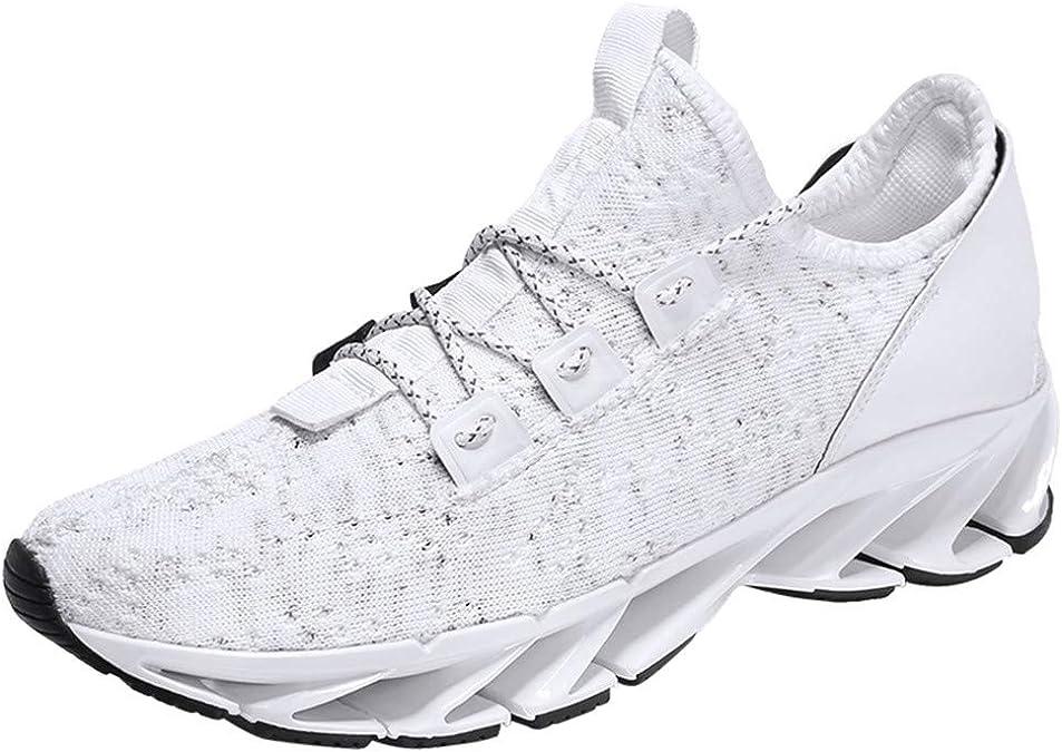 Hombres Talla Grande Zapatos Deportivos,ZARLLE Zapatos de Cordones para Hombre,Ligeros Cómodo Zapatos Casuales,Senderismo Salvaje Zapatos para Correr: Amazon.es: Zapatos y complementos
