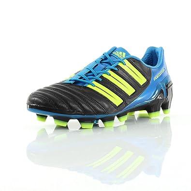 competitive price d8f9a 1f1b3 Adidas Predator Trx Fg Adipower Electricity Black-Blue-Sharp - EU Size  43  1 3 - UK Size  9  Amazon.co.uk  Shoes   Bags