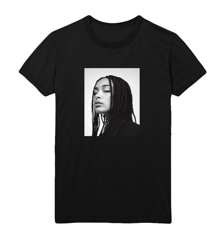 Jorja Smith Face S Tshirt 100 Black Shirt S