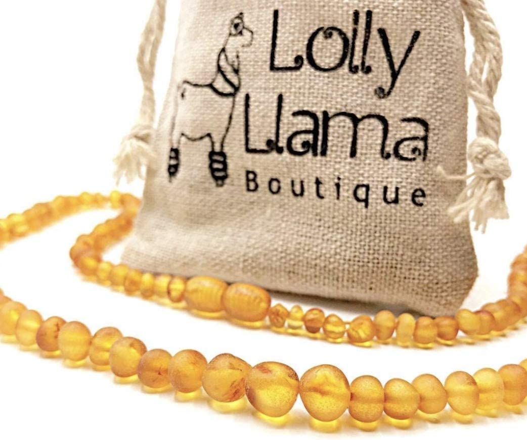 NATURAL RAW BALTIC AMBER NECKLACE