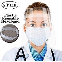 [5 unidades] Visera protectora de cara completa,