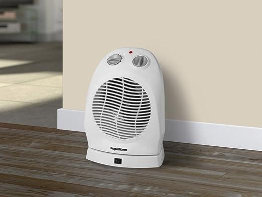 SupaWarm Deluxe ventilador calentador – 2400 W: Amazon.es ...