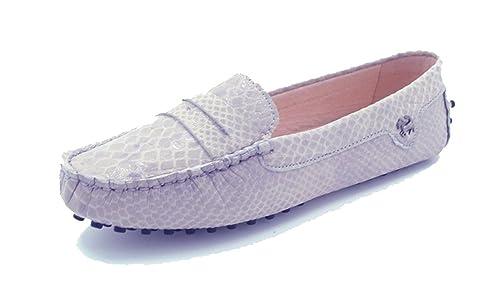 Mocasines de gamuza Minitoo, casuales, para mujeres, color Gris, talla 40: Amazon.es: Zapatos y complementos