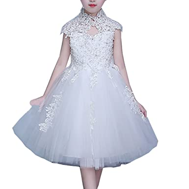 44961e88c6c Ourlove Dress Girls Princess Ball Gown Flower Girl Dresses 2-14 Year Old  First Communion