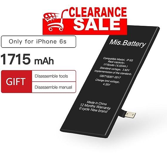 Amazon.com  iPhone 6S Battery 0cc34b836e627