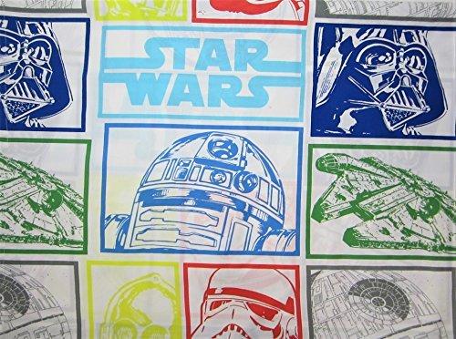 Star Wars Classic Design 60% Cotton (Flat Sheet ONLY) Size Twin Boys Girls Kids Bedding