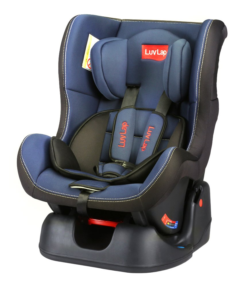 Luvlap Sports Convertible Baby Car Seat (Blue)