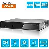 Q-camera 8CH 5M-N/1080N Full HD HíBrido Ahd/Tvi/Cvi/AnalóGico/Onvif Ip