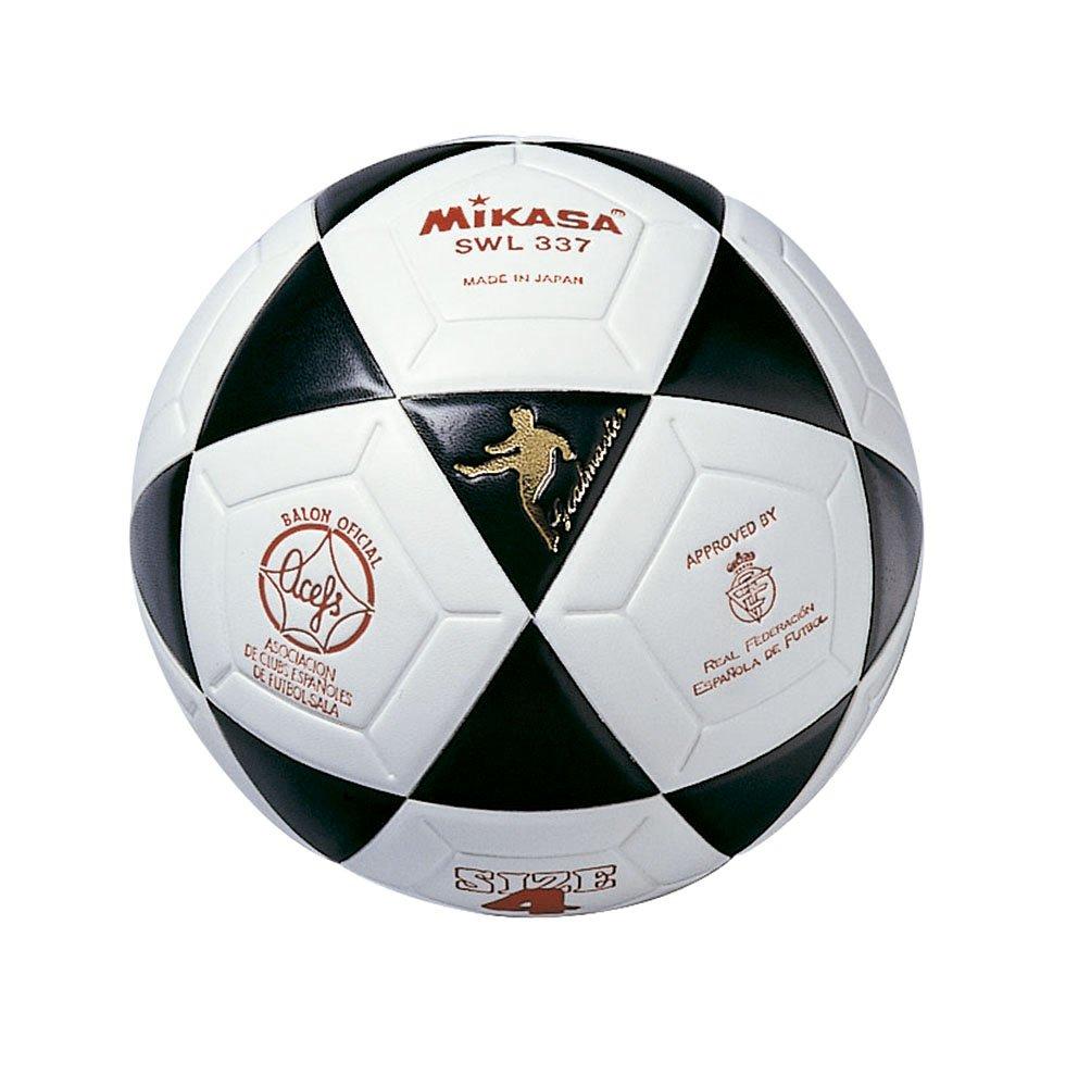 Mikasa SWL337 Ballon thermosoudé Blanc/Noir Taille62 MIKCG|#Mikasa
