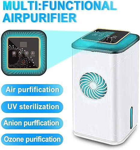 L&F Purificador de Aire para el hogar, purificador de Aire, esterilizador UV Ionizador de Aire Generador de ozono ...