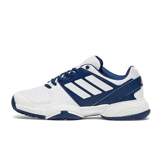 Adidas Barricade Club Junior Scarpe Sportive Sneakers Trainers Bianco, Bianco, 36 2/3