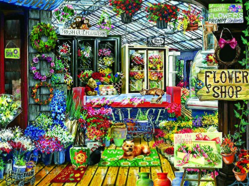 Fresh Cut Flowers 1000 Piece Jigsaw Puzzle by SunsOut